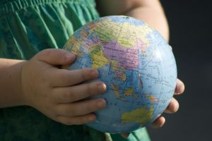 child globe
